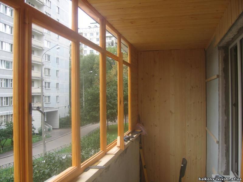 Отделка балконов. внутренняя и внешняя отделка под ключ.